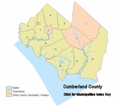 Cumberland County New Jersey Detailed Profile Travel And Real - Detailed map of new jersey