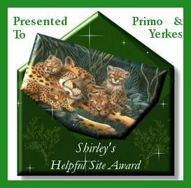 Shirley's Helpful Site Award
