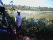 Ben at Wharton State Park